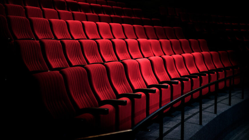Rows red seats theatersmall